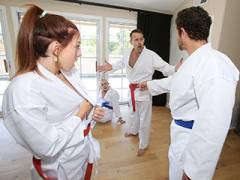 Swapping Martial Arts Muff