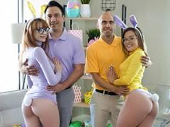 Naughty Bunnies Easter Swap
