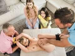 Disciplinary Daughter Orgy
